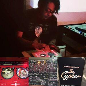 Kaz Mashino iPad DJay2, Fusion, IDM, 90's breakbeats,  Tokyo Akihabara Cypher 17th Oct 2015.