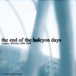 The End of the Halcyon Days - Bonus