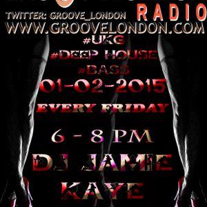 GrooveLondon Radio Show - 01-02-2015