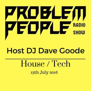 Dave Goode Live on Problem People Show Bondi Beach radio 13th July 2016