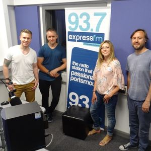 Russell Hill's Country Music Show on Express FM feat. BeX + Neil Roberts. 25/06/17