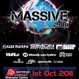 Massive 2011 promo mix ( Part 1)