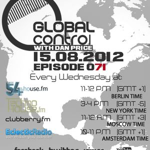 Dan Price - Global Control Episode 071 (15.08.12)