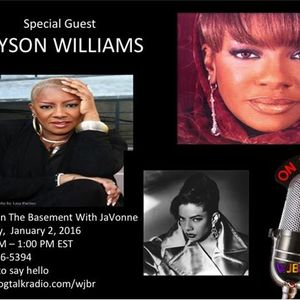 Alyson Williams on Brunch In The Basement With JaVonne