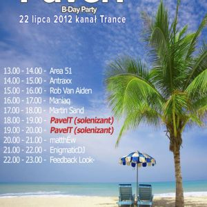 Feedback Look - GUESTMIX for PavelT Bday Party - trance channel radioparty.pl