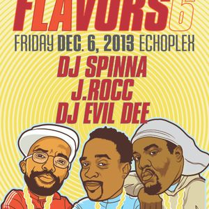 FLAVORS LA: B-Sides & LP CUTS Mixed By J.Rocc