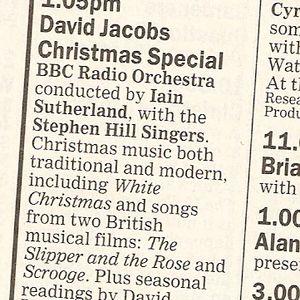 David Jacobs Christmas Special 1989