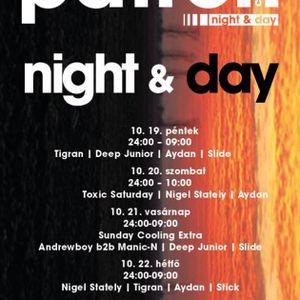 MightyB b2b Steve Judge – Live @ Patron Club,Budapest Toxic Party (2012-10-20)