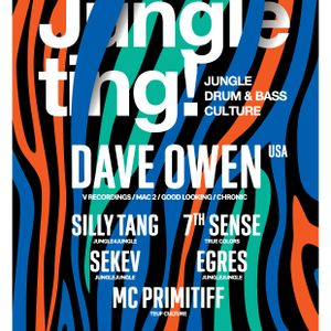 7TH SENSE @ JUNGLE TING! PRESENTS: DAVE OWEN AUGUST 2016 PROMO MIX