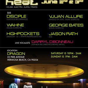Usual Suspects Present: H.E.A.T. at Dragon - Vjuan Allure