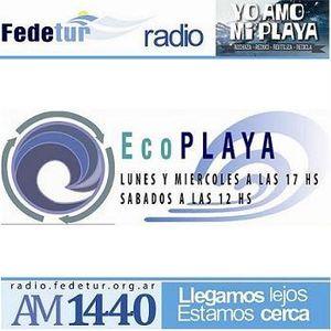 EcoPlaya - Radio Fedetur AM 1440 - Programa emitido el 22.08.2015
