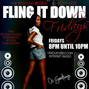 DC Goodtingz Presents: fling it down friday 21 JULY 2017