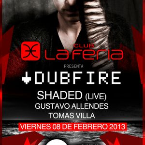 Dubfire @ Sunshine 08-02-2013 by Club La Feria, Chile