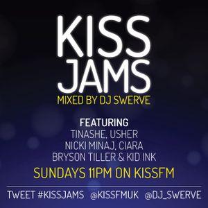 KISS JAMS MIXED BY DJ SWERVE 15 NOV 15