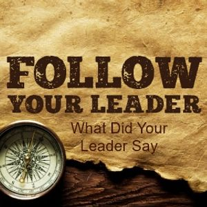 Follow Your Leader Part 3: What Did Your Leader Say - Paul McMahon - 19th February 2017