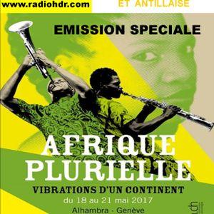 BLACK VOICES spéciale festival AFRIQUE PLURIELLES à GENEVE du 18 au 21  mai  RADIO HDR ROUEN