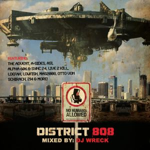 DISTRICT 808 vol.1 :: Mixed by WRECK