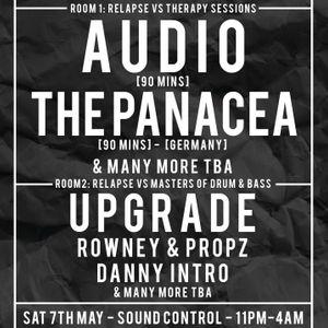 LIVE :: DJ DANNY INTRO & MC ROB P @ RELAPSE , MANCHESTER :: SATURDAY 7TH MAY 2016