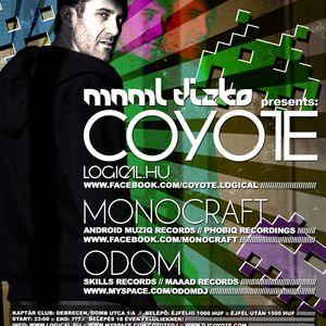 Odom@MNML DIZKO (warm up), Kaptár Club 2010.11.12