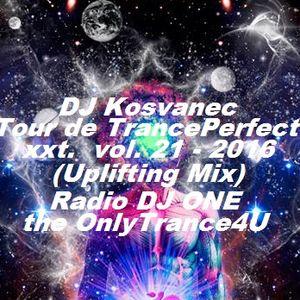 DJ Kosvanec (CZ) - Tour de TrancePerfect xxt vol.21-2016 (Uplifting Mix)