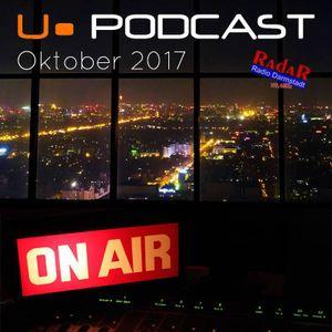 Podcast Oktober 2017 - Essential Mix für RadaR Darmstadt