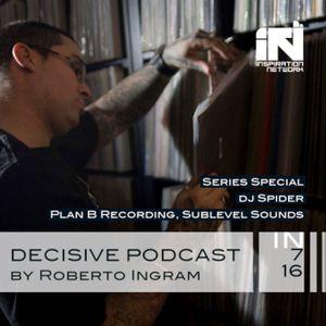Decisive Podcast Special Series - Dj Spider