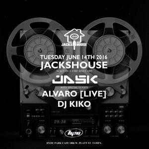 ALVARO(live)+Dj Kiko ft. Javad (live drums) @ 20 years of JacksHOUSE 2016
