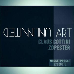 UNlimited ARt Night @ Morski Prasac //Claus Cottini & Zopester// 27-06-2015