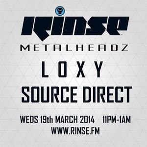 The Metalheadz Records Show - 01 - Loxy (Cylon Recordings) @ Rinse.fm 106.8 FM - London (19.03.2014)