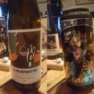 IPA Challenge - The Alchemist Focal Banger vs Cloudwater IPA Mosaic Exp 431