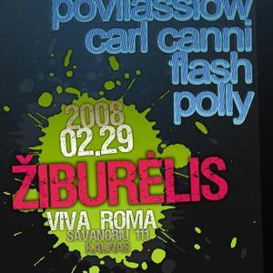Polly (Live)@Ziburelis,VivaRoma,Kaunas 2008.02.29.