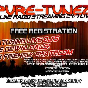 Electro House live on puretunez.com - DJ Jim