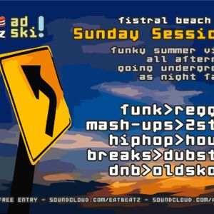 Sunday Sessions Sunset Mix Live @ Fistral Beach Bar 22-05-2011