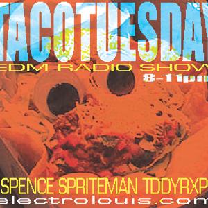 #TacoTuesdays ft Spriteman on electrolouis.com - 09/11/2012
