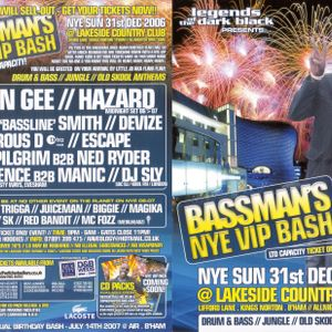 Dj Patience B2B Manic Live @ Bassmans NYE VIP Bash - The Lakeside Club, Birmingham - 31-12-2006
