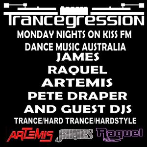 Artemis on Trancegression Kiss FM Dance Music Australia 14/7/14