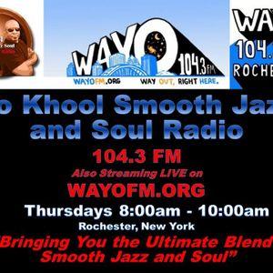 Jo Khool Smooth Jazz and Soul Radio 3-24-2016