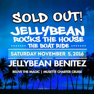 Jellybean Benitez 4 Hour Live set #JellybeanRocksTheHouse #BoatRide Fort Lauderdale, FL Nov 6th 2016