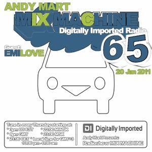 Andy Mart - Mix Machine@DI.FM 065 (20.01.2011)