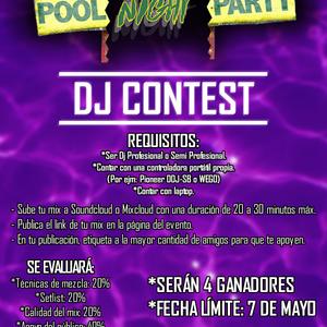 Pool Night Party / By Monkster Club @DIAMOND (DJ CONTEST)