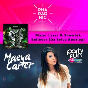 "Da Sylva Bootleg ""Believer"" supported by Maeva Carter @ Pharaonic Festival on Fun Radio"