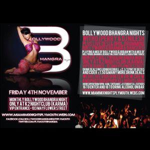 BollywoodBhangra Nights Friday 4th November DJ PerryK 30mins MIX