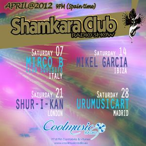 SHAMKARA CLUB UruMusicArt in the mix 28April cool music radio