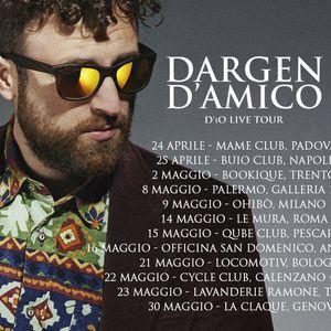 Dargen D'amico presenta il suo D'iO Live Tour - Intervista di Antonietta Gravante ed Elisabetta