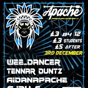 Apache Promo Mix [Techno - Vinyl mix]