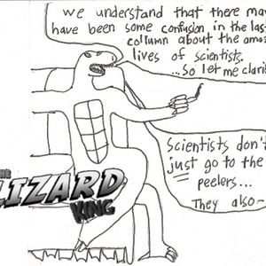 Giant Lizards shall soon rule the Earth - March 29th, 2011