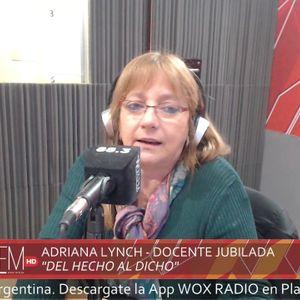 """#ElDedoEnLaLlaga """"Del hecho al dicho"""" Columna sobre educación de Adriana Lynch 05/09/2017"""