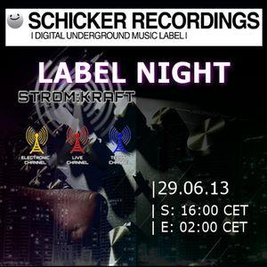 Sascha Luxx - SCHICKER Recordings Label Night @ STROM:KRAFT 2013