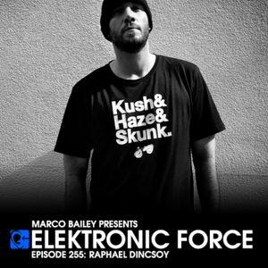 Elektronic Force Podcast 255 with Raphael Dincsoy