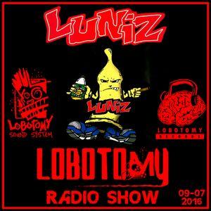 """Lobotomy Radio Show & Selecta Jallah Kadafi """" Special Da Luniz & Gangsta Rap 90's - 09/07/2016 """"..."""